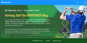 FanDuel Golf Training Guide 1
