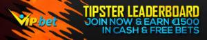 VIP-bet Tipster Leaderboard