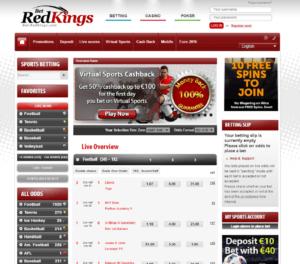 Redkings General Betting