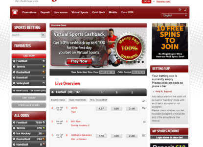 Redkings General Betting