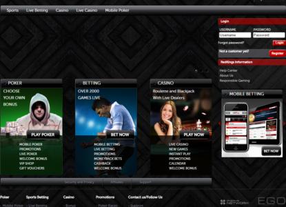 Redkings homepage