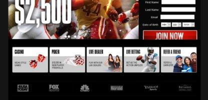 BetOnline eSports Homepage