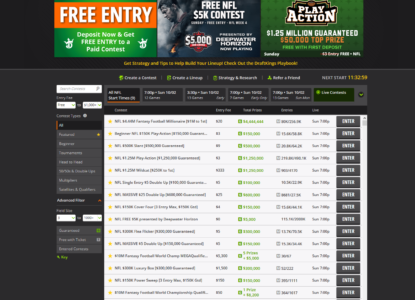 DraftKings Review #2