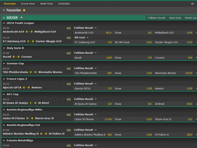 Bet365 Live Betting