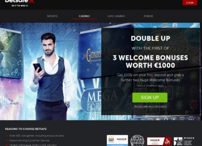 Betsafe Homepage