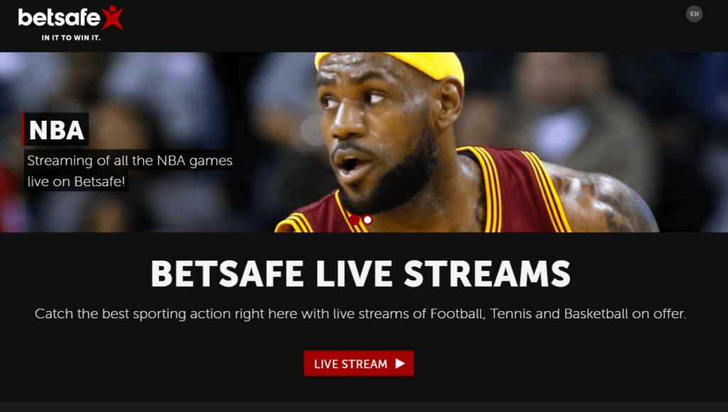 Betsafe Live Streaming