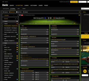 Bwin Livve Betting