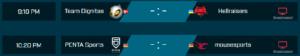 EPL European Round 4 MATCHES
