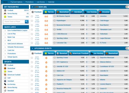 Winner Sports Homepage