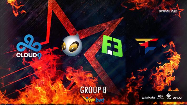 Dreamhack Bucharest 2016 Group B