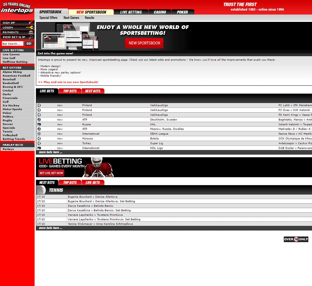 Vip Bet Com Intertops Classic Sportsbook