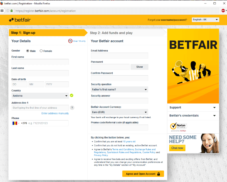 betfair-sign-up-form
