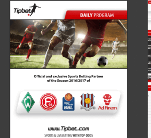 Tipbet Betting Program