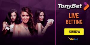 Tonybet Live Betting