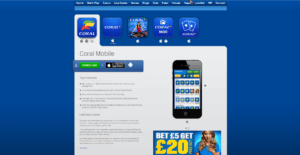 Coral Mobile Betting & Bonus