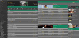 Markets and Sports (to bet on)