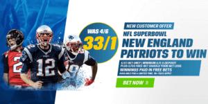 Coral Super Bowl LI enhanced odds