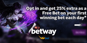 Betway eSports 25% Extra Winnings Special
