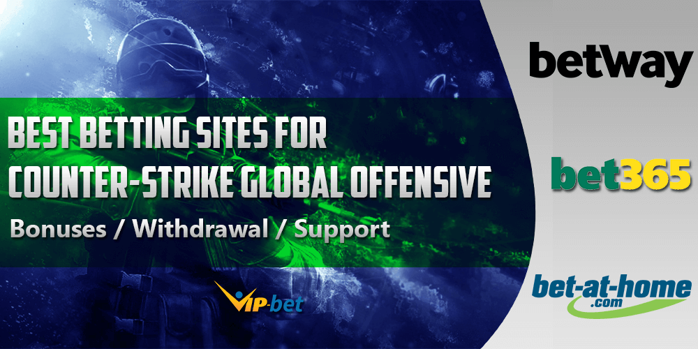 Best Counter-Strike Global Offensive betting sites