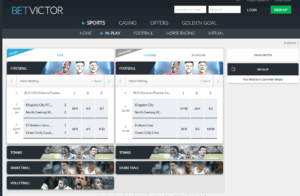 Betvictor Live Betting