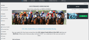 Betvictor Live Streaming