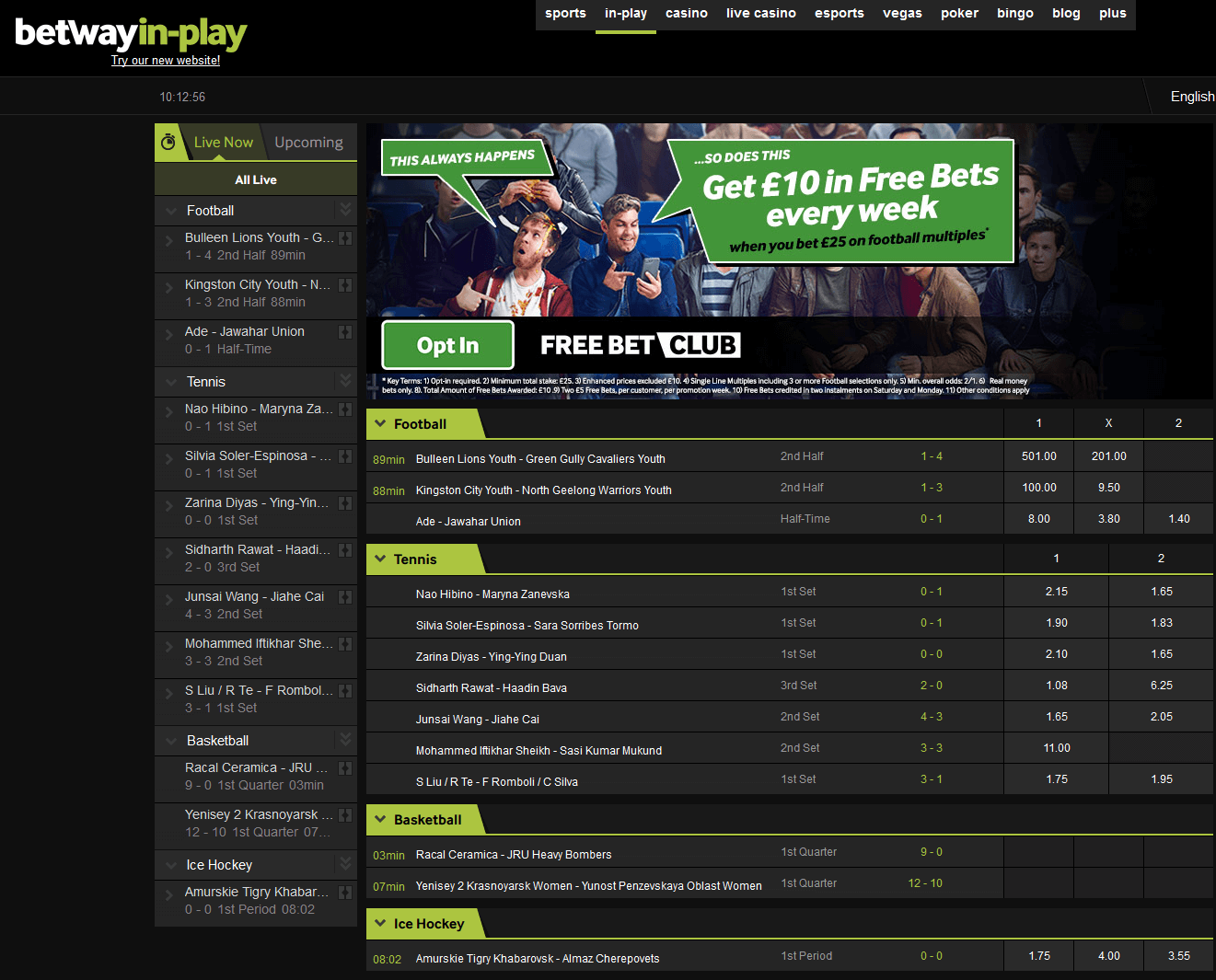 Betway Review Betway Live Betting