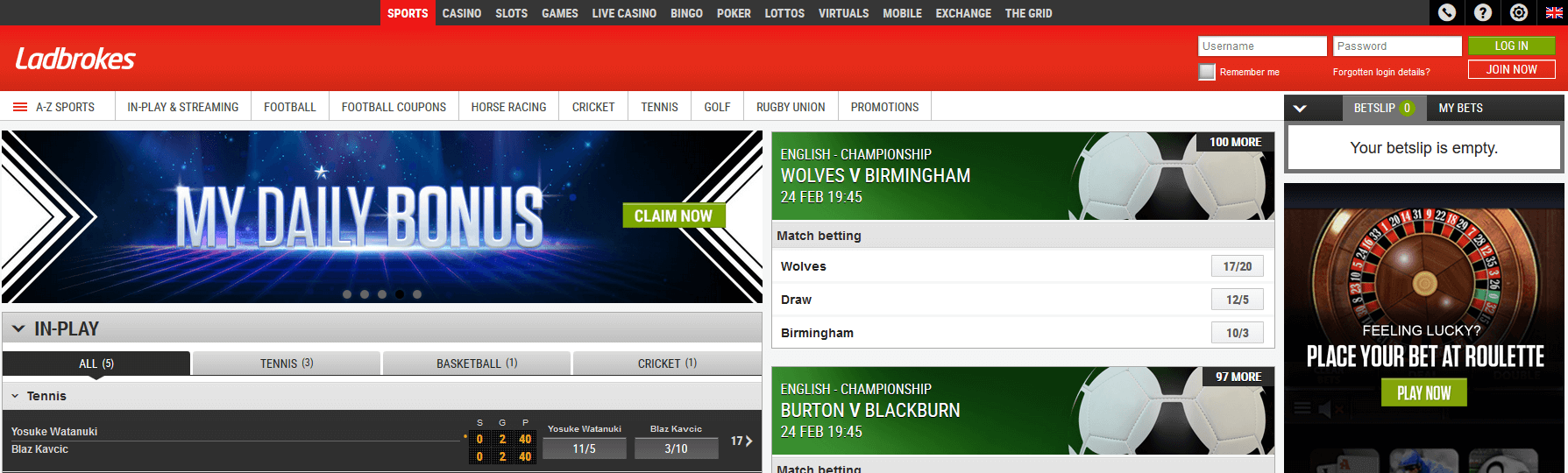 ladbrokes sports login