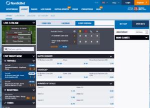 Nordicbet Live Betting