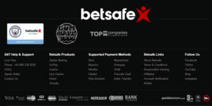 Betsafe Payment Options