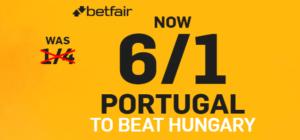 Betfair Portugal Offer