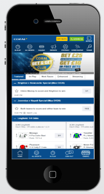 Corals betting app mgm grand sports book betting lines