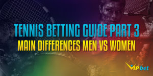 Tennis Banner Women vs Men