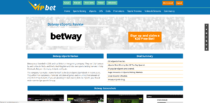 Betway Step 1