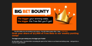 888Sport Big Bet Bounty