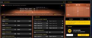 Bwin Tennis Live Betting