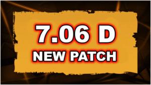 Dota 2 Patch 7.06d News