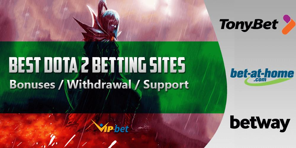 Best Dota 2 betting sites