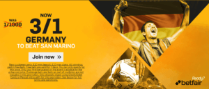 World Cup Qualifiers Enhanced Odds Offers