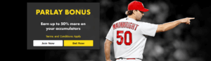 Bet365 MLB Parlay Bonus