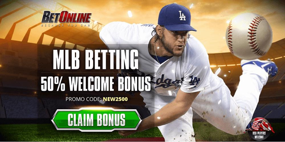 BetOnline MLB Betting Bonus
