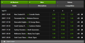 NetBet Rugby Betting 1