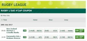Paddy Power Rugby 1