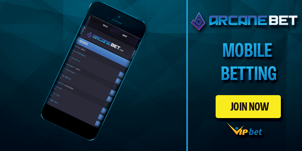 Arcanebet Mobile Betting