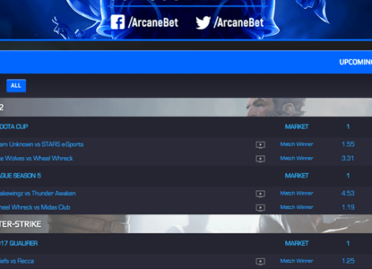 Arcanebet Tournament Schedule