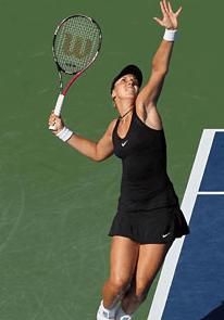 Tennis Guide Aufschlag - Damen