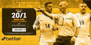 England Vs Slovakia