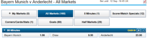 William Hill Example Of Odds