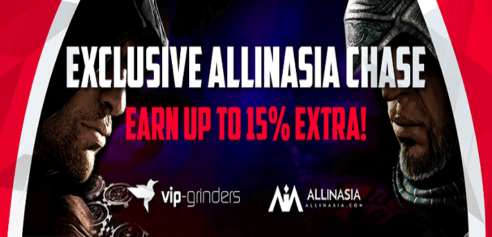 All In Asia Chase VIP Grinders