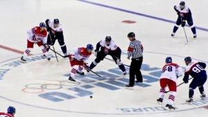 Ice Hockey At The 2014 Winter Olympics – Men's Tournament Czech Republic Vs Slovakia