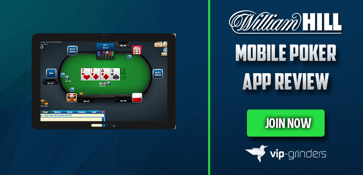William Hill Mobile Poker App Review